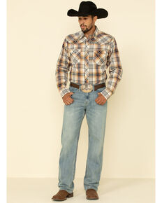 Cody James Men's River Rock Light Rigid Relaxed Straight Jeans , Blue, hi-res