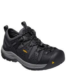 Keen Men's Atlanta Cool II Work Boots - Steel Toe, Black, hi-res