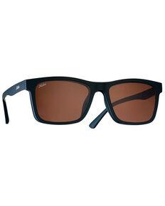 Hobie Lennox Satin Black & Copper Mirror PC Polarized Lens , Black, hi-res