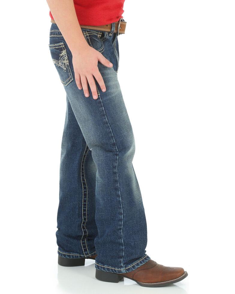Wrangler 20X Boys' No. 42 Vintage Jeans - Boot Cut , Blue, hi-res