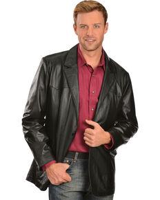 8adfaddb58 Scully Lamb Leather Blazer - Big