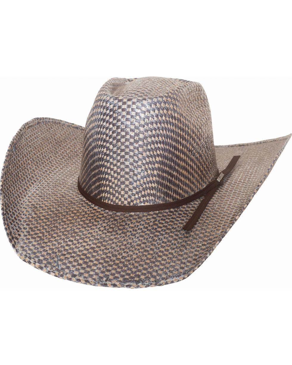 Bullhide Men's Road Warrior Canyon 50X Straw Cowboy Hat , Brown, hi-res