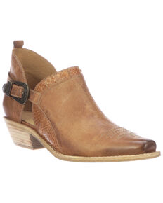 Lucchese Women's Ethel Fashion Booties - Snip Toe, Tan, hi-res