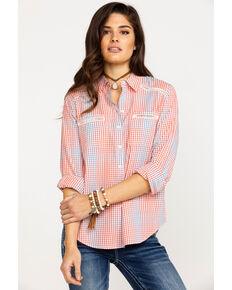 Ariat Women's Canyon Small Plaid Long Sleeve Western Shirt , Multi, hi-res