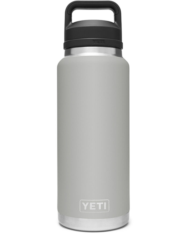 Yeti Rambler 36oz Grey Chug Cap Bottle, Grey, hi-res
