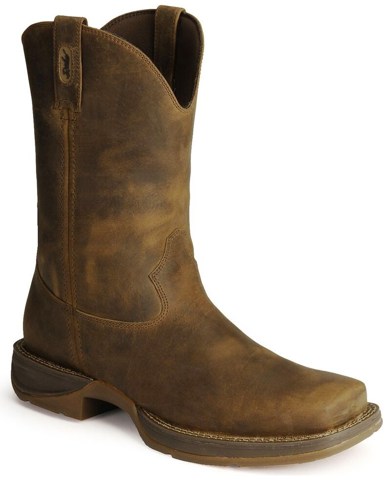 2e9e184f87f Durango Rebel Men's Pull-On Western Boots - Square Toe