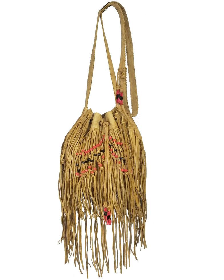 Kobler Leather Women's El Paso Crossbody Bag, Tan, hi-res