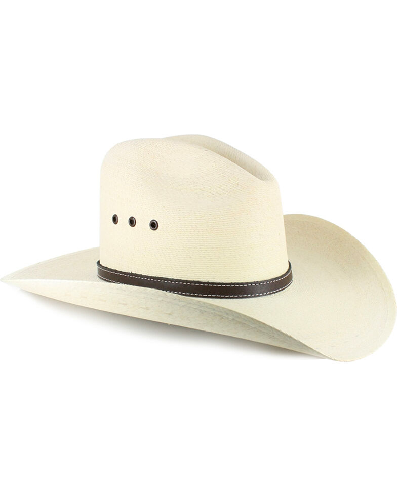 Atwood Men s Gus 7X Palm Leaf Straw Cowboy Hat - Country Outfitter 08cebf904ed