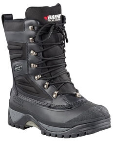 Baffin Men's Crossfire Insulated Winter Boots - Soft Toe, Black, hi-res