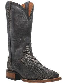 Dan Post Men's Stryker Western Boots - Wide Square Toe, Grey, hi-res