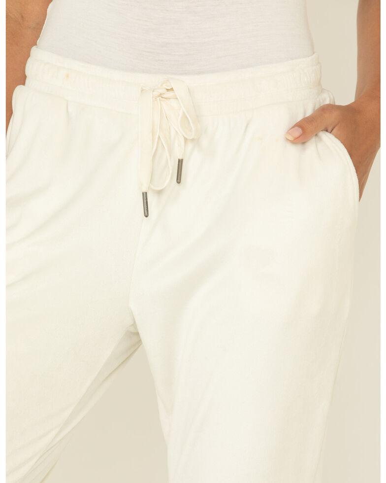 Z Supply Women's Velour Pants, White, hi-res