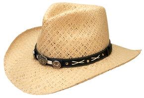 Jack Daniel's Soft Toyo Straw Cowboy Hat, Natural, hi-res