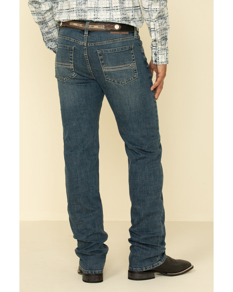 Cody James Men's High Roller Stackable Stretch Straight Medium Wash Jeans , Blue, hi-res