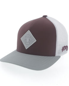 HOOey Men's Texas A&M Diamond Patch Flex Fit Cap , Multi, hi-res