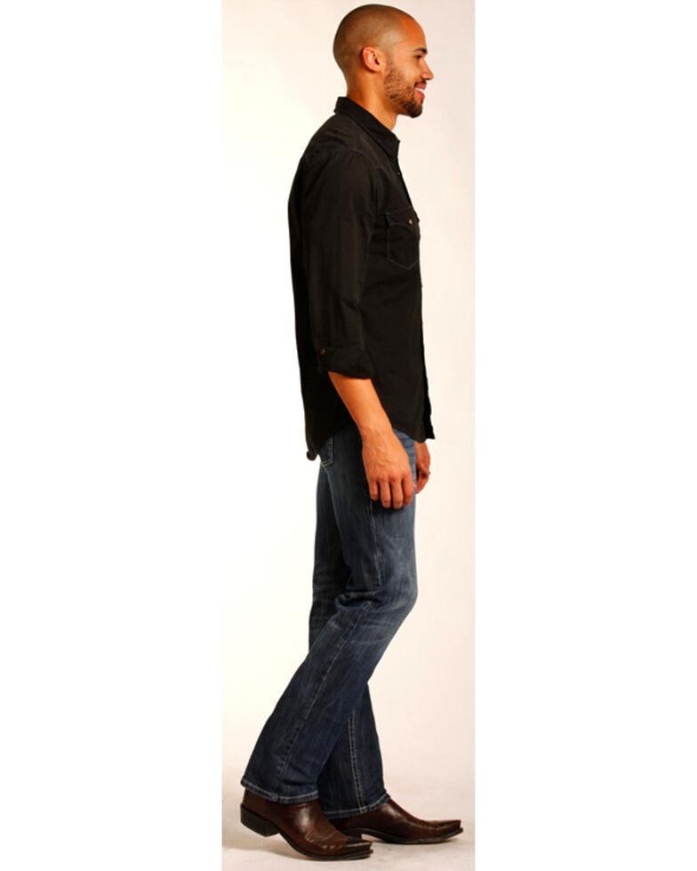 "Rock & Roll Denim Men's Small ""V"" Reflex Revolver Slim Jeans - Straight Leg , Indigo, hi-res"