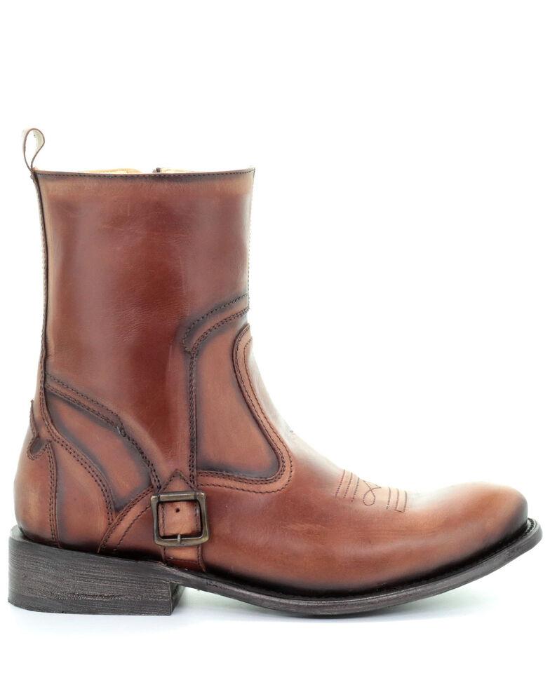 Corral Men's Cognac Strap Western Boots - Round Toe, Cognac, hi-res