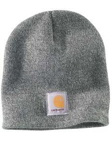 Carhartt Men's Heather Grey Acrylic Watch Work Hat , Grey, hi-res