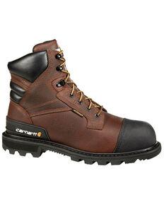 """Carhartt 6"""" Brown CSA Work Boot - Steel Toe, Brown, hi-res"""