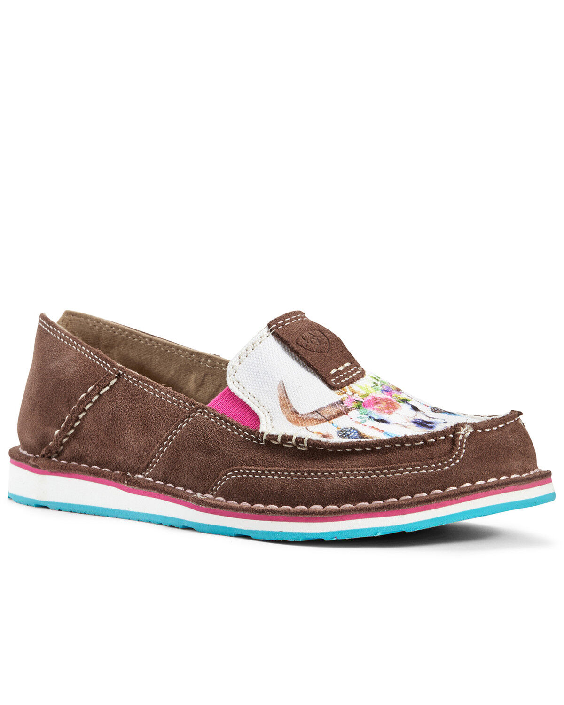 Suede Cruiser Shoes - Moc Toe
