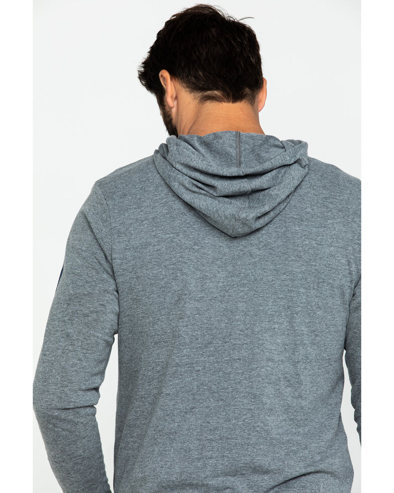 Levi's Men's Evans Logo Graphic Hooded Sweatshirt , Grey, hi-res