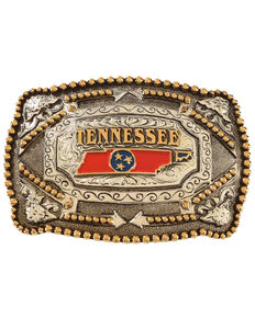 Cody James Tennessee Regional Belt Buckle, Multi, hi-res