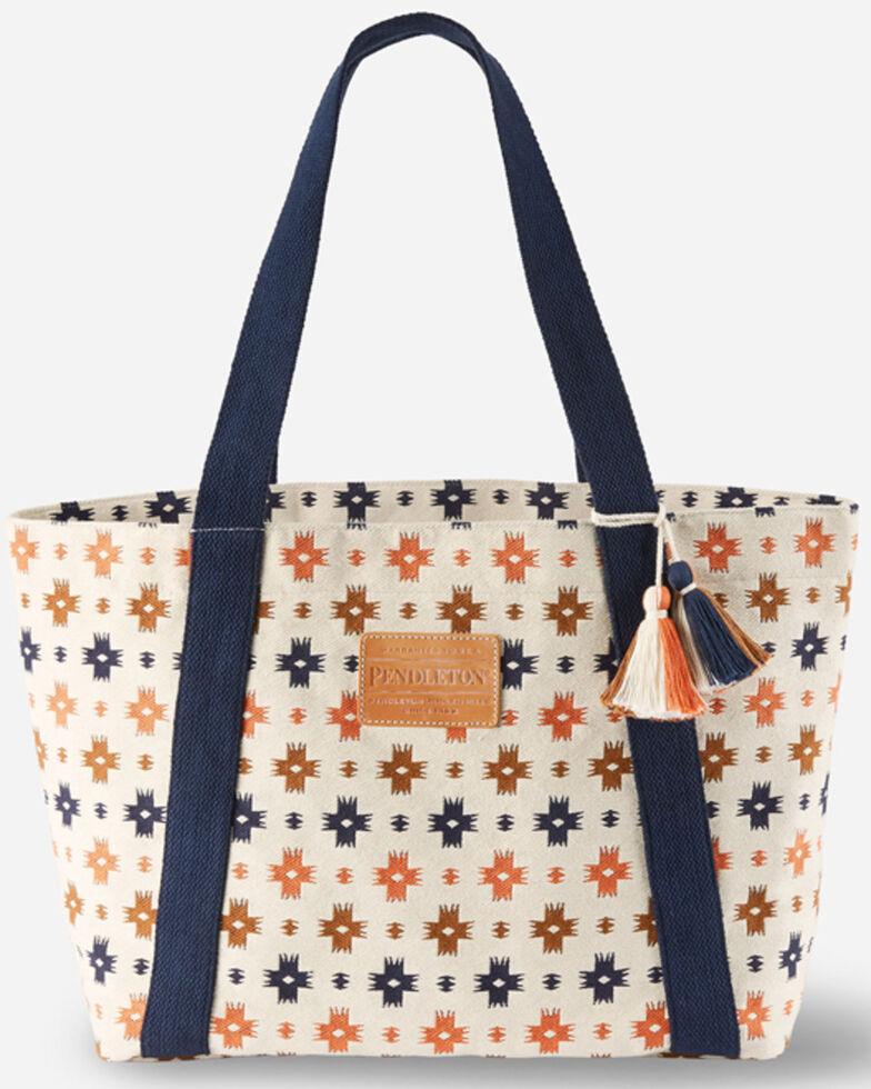Pendleton Women's Front Sweetwater Tote Bag, Cream, hi-res