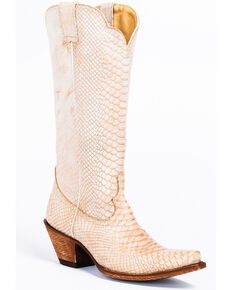 Idyllwind Women's Strut Western Boots - Snip Toe, Ivory, hi-res