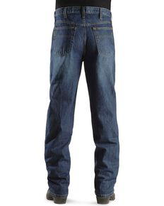 Cinch Black Label Dark Stone Loose Fit Jeans - Big & Tall, Dark Stone, hi-res