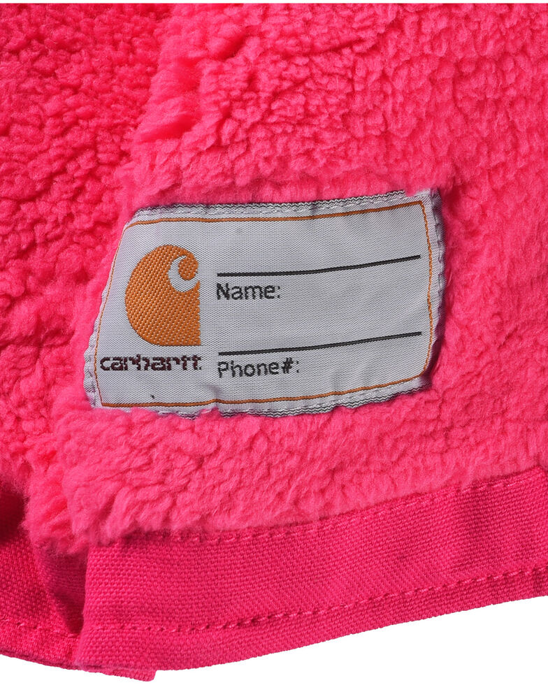 b598bb8fef20 Carhartt Toddler Girls  Pink Redwood Sherpa Lined Jacket - Country ...