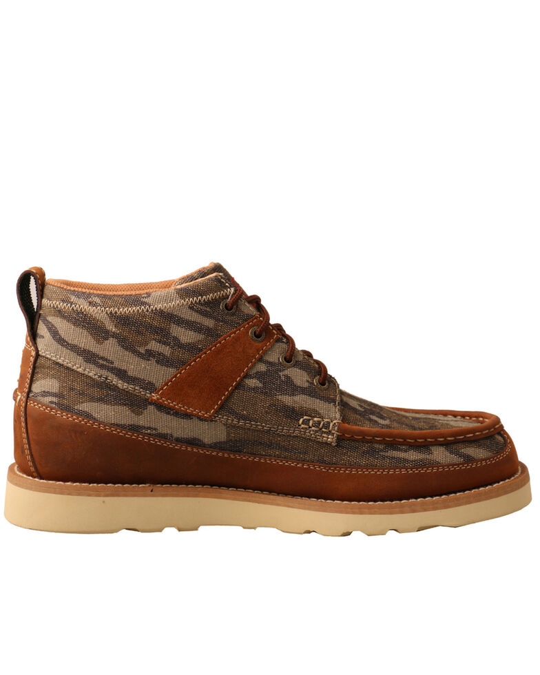 Twisted X Men's Brown Casual Loafer Shoes - Moc Toe, Brown, hi-res