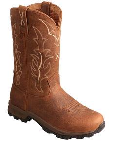 Twisted X Women's Wellington Hiker Boots - Square Toe, Rust Copper, hi-res