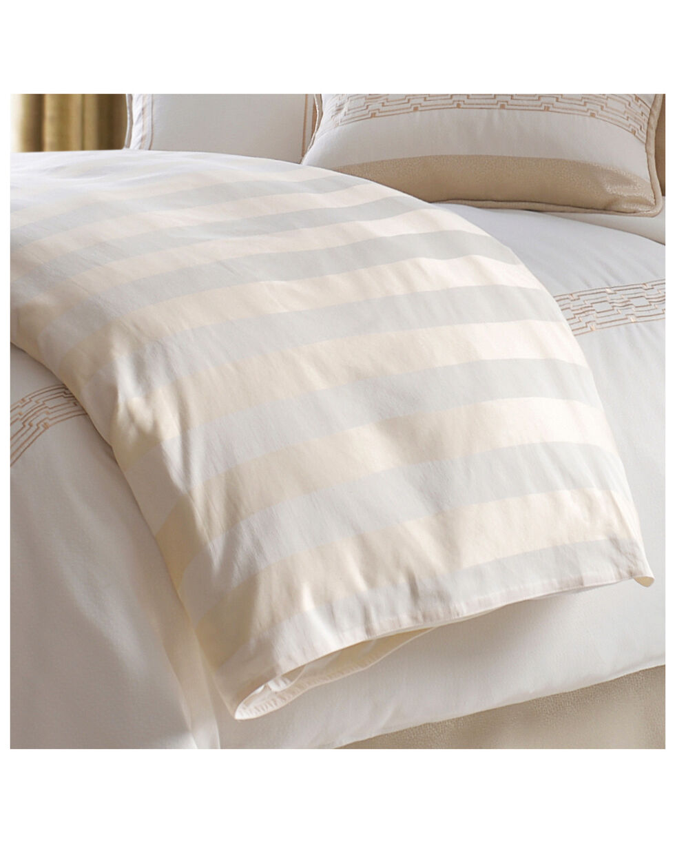 HiEnd Accents Queen Hollywood Duvet , Cream, hi-res