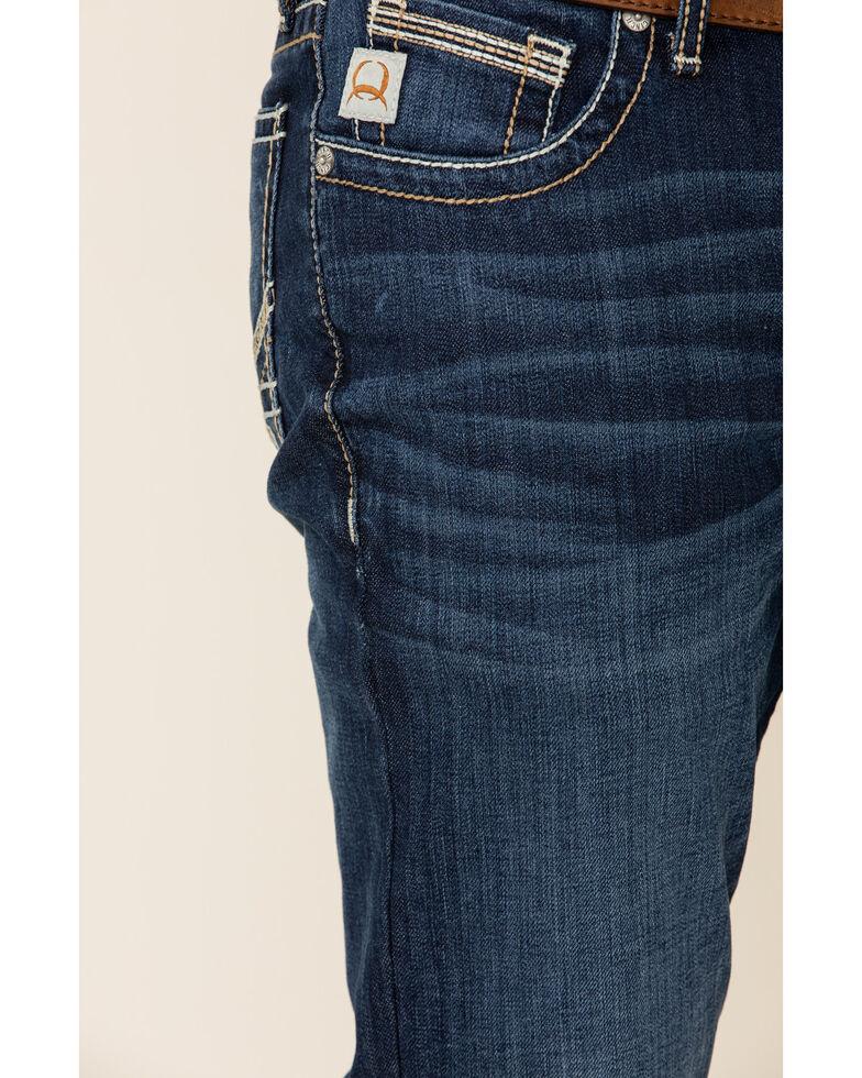 Cinch Men's Ian Dark Stone Performance Slim Bootcut Jeans , Blue, hi-res