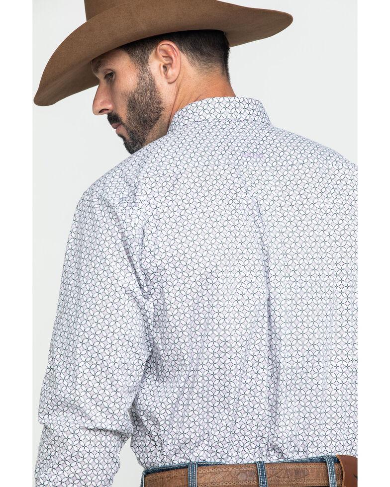 Ariat Men's Ferndale Stretch Geo Print Long Sleeve Western Shirt - Big , Multi, hi-res