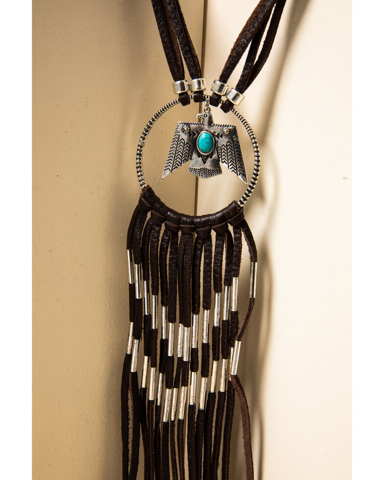 Idyllwind Women's OMW To The West Necklace, Brown, hi-res