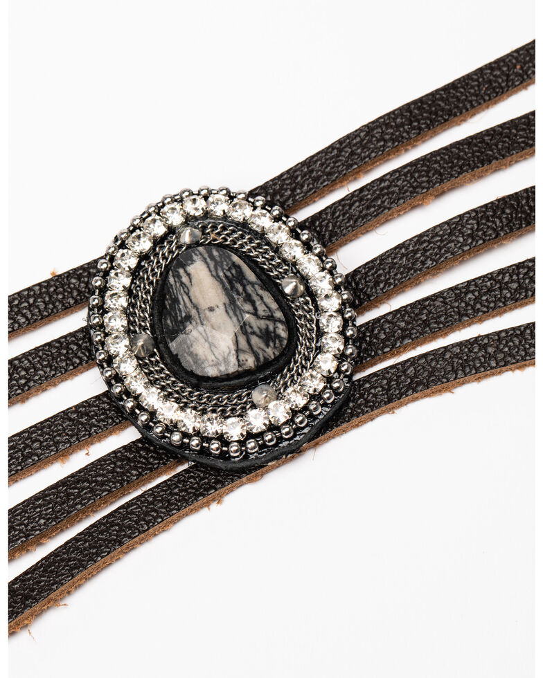 Idyllwind Women's In The Moment Cuff Bracelet, Black, hi-res