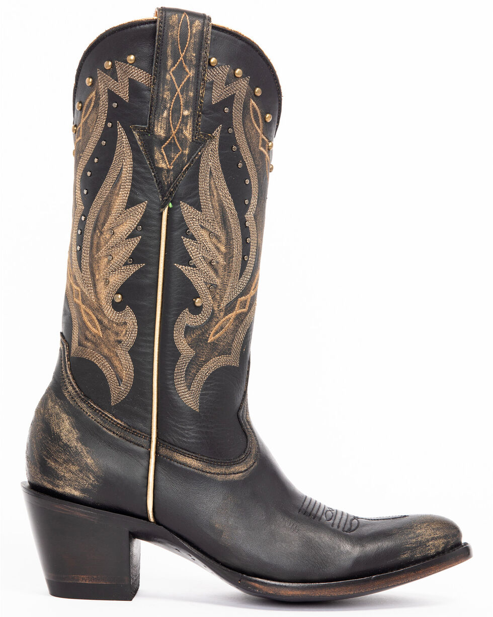 Idyllwind Women's Go West Western Boots - Pointed Toe, Black, hi-res