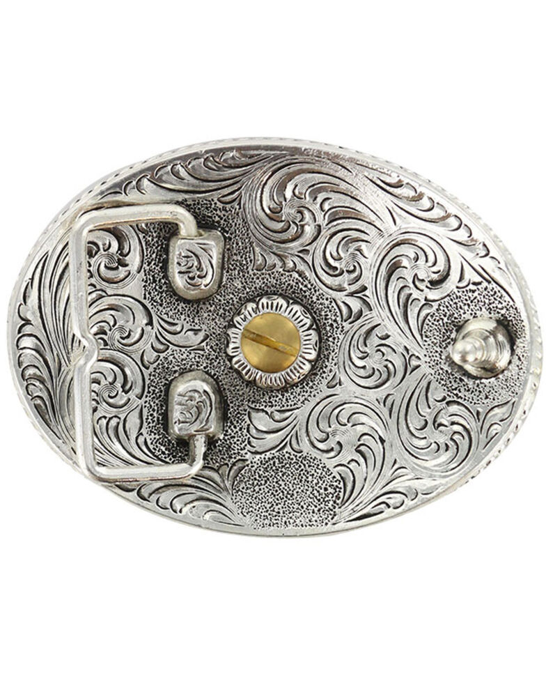Cody James Men's Antiqued Colorado Oval Belt Buckle, Multi, hi-res