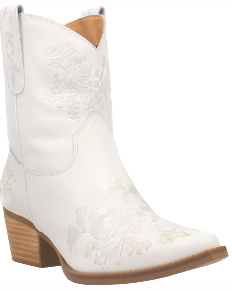Dingo Women's Take A Bow Western Booties - Snip Toe, , hi-res