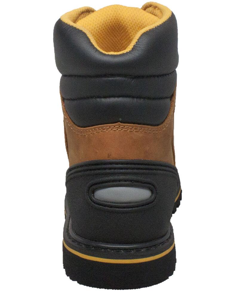 Ad Tec Men's Light Brown Work Boots - Steel Toe, Lt Brown, hi-res