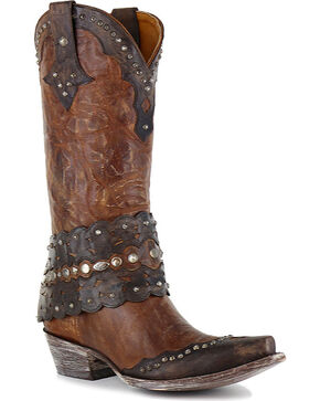 Old Gringo Women's Jerely Western Boots, Brown, hi-res