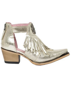 Junk Gypsy by Lane Lane Women's Kiss Me At Midnight Fashion Booties - Snip Toe, Silver, hi-res