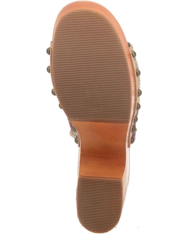 Dingo Women's Corona Fashion Booties - Round Toe, Sand, hi-res