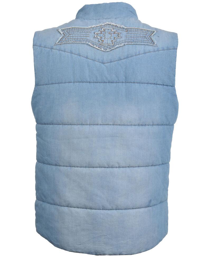 STS Ranchwear Women's Mesa Denim Vest - Plus, Indigo, hi-res