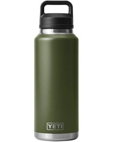 Yeti Rambler 46oz Chug Cap Bottle, Olive, hi-res