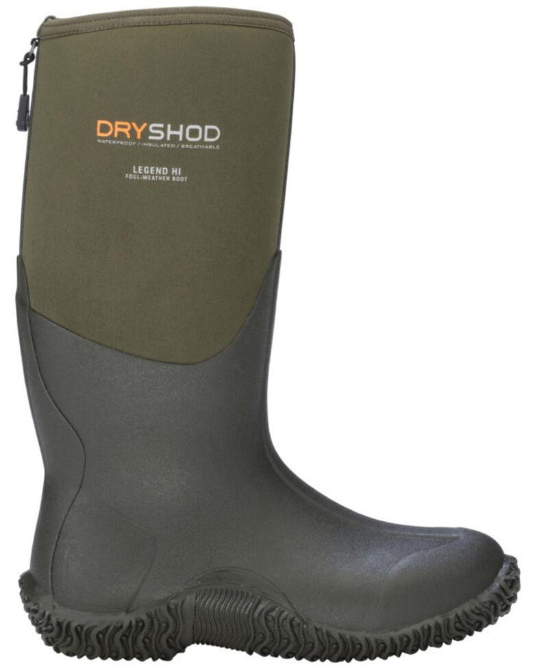 Dryshod Men's Hi Legend Adventure Boots, Grey, hi-res