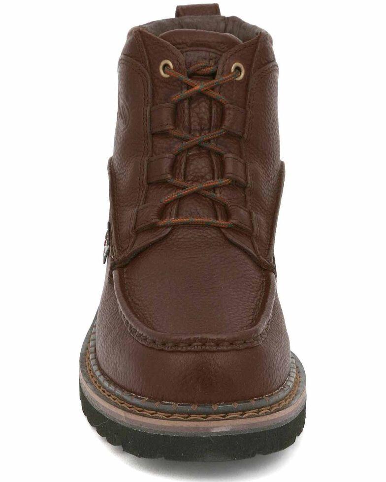 Justin Men's Dugan Casual Lace-Up Boots , Rust, hi-res