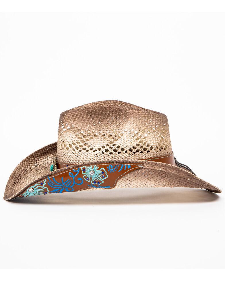 Shyanne Women's Brooklyn Straw Hat, Beige/khaki, hi-res