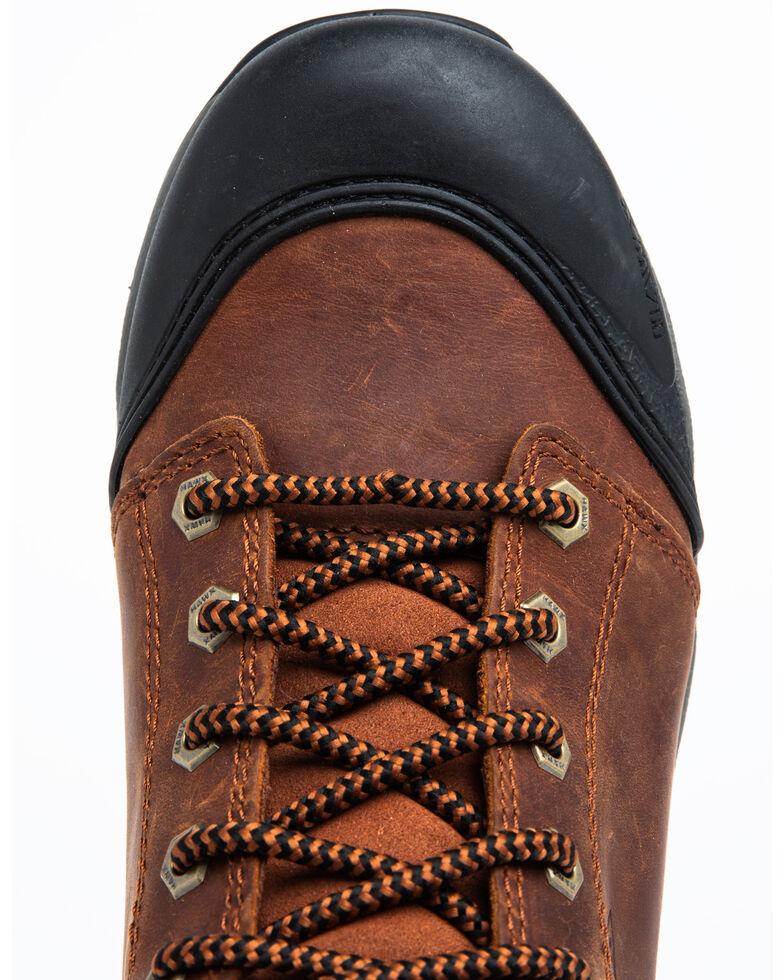 Hawx Men's Rust Waterproof Work Boots - Composite Toe, Rust Copper, hi-res