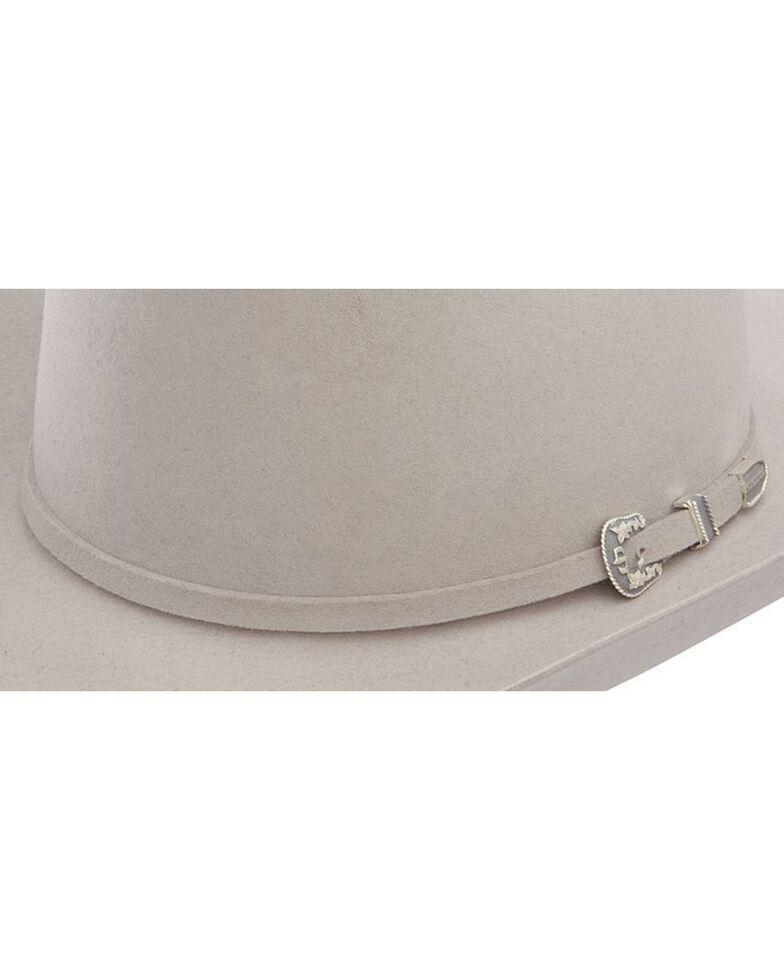 Stetson Men's 6X Skyline Silver Grey Fur Felt Cowboy Hat, Silver Grey, hi-res
